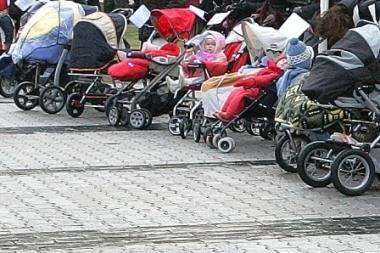 Draudimas protestuoti tėvams galėjo pažeisti piliečių teises