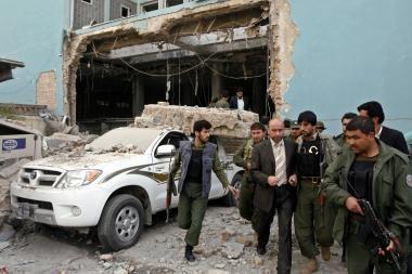 Mirtininkas susisprogino Afganistano ministerijoje