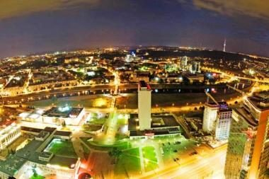 Per metus Vilnius atpigo 43 proc.