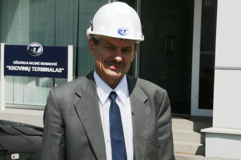 """Naujasis """"Krovinių terminalo"""" vadovas - Albertas Gimbutas"""