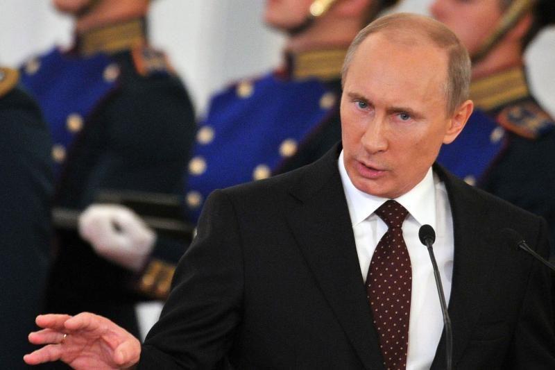 V. Putino juokelis: be butelio degtinės iš karto nesusikalbėsime
