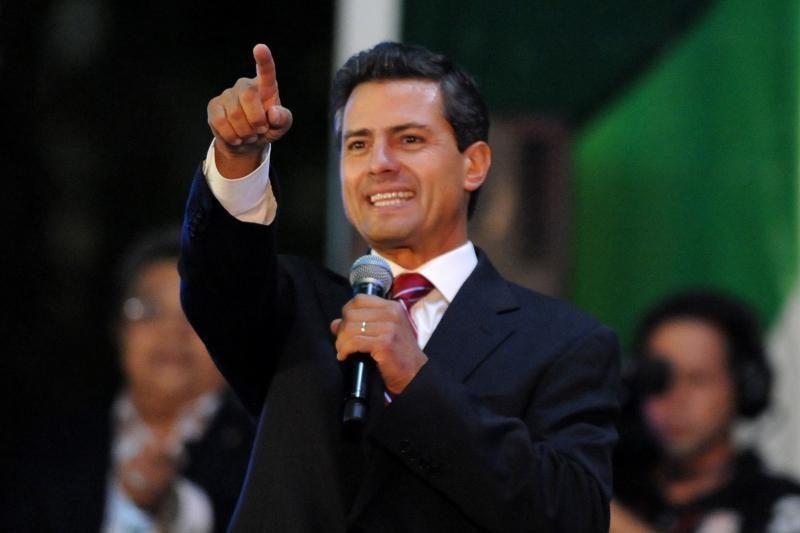 Pena Nieto paskelbė pergalę Meksikos prezidento rinkimuose