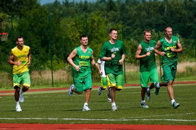 Lietuvos vyrų krepšinio rinktinė baigė atostogas