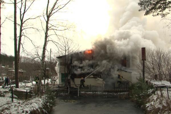 Ukmergėje per gaisrą sodo namelyje sudegė vyras