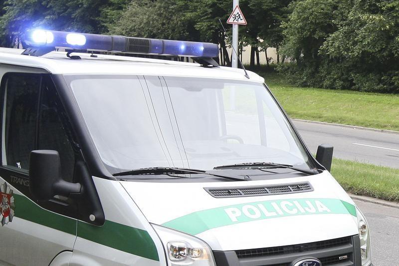 Druskininkų policininkai šaudydami vaikėsi neblaivų vairuotoją