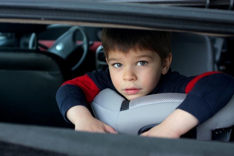 Kaimuose vaikus vežti automobilinėse kėdutėse – vis dar svetima