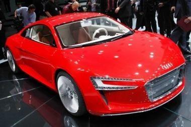 "Masinė ""Audi E-Tron"" gamyba – ne už kalnų"