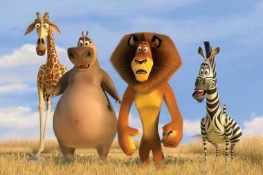 "Filmo ""Madagaskaras 2"" premjera – jau šį savaitgalį"