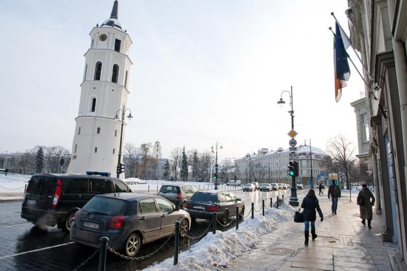 Archeologai Vilniuje Šventaragio gatvėje rado tilto liekanų