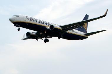 """Už nemokamus """"Ryanair"""