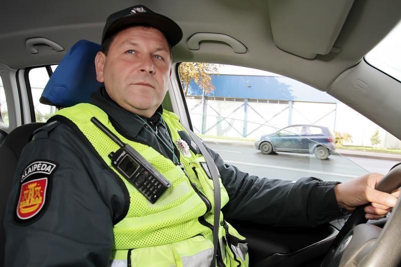 Legendinis Klaipėdos policininkas – jau pensininkas