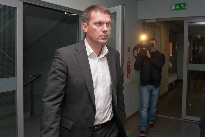 D.Šaluga nubaustas 2,5 metų laisvės atėmimo bausme