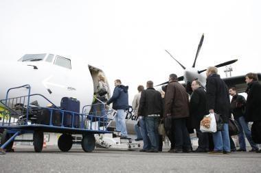 Palangos oro uostas šiemet sulaukė 2 proc. mažiau keleivių