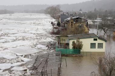 Hidroelektrinėms paneriuose statyti nėra vietos