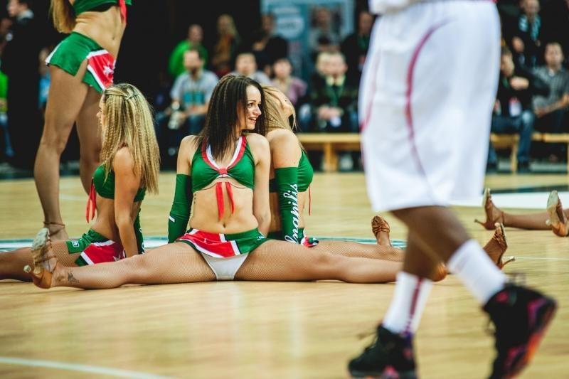 """VTB: """"Žalgirio"""" ir Vilniaus šokėjos (balsuok, kurios karštesnės!)"""