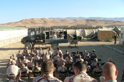 Afganistane tarnaujantiems kariams – dėmesys iš Lietuvos