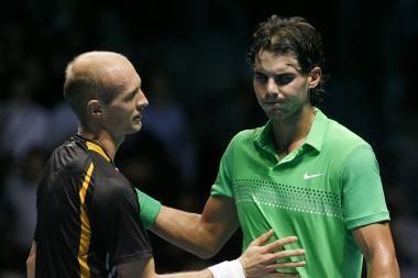 Pirmoji Rusijos tenisininko pergalė ATP serijos turnyre Londone