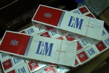 Dubline konfiskuota šimtai tūkstančių kontrabandinių cigarečių iš Kauno