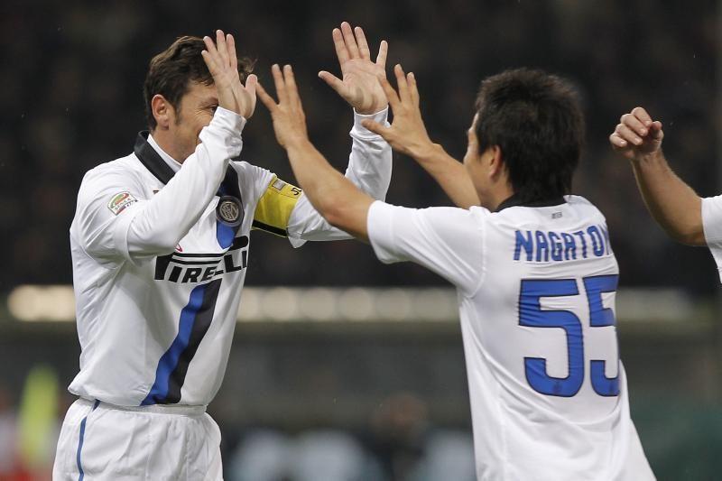 """Italijoje """"Inter"""" pakilo į septintąją poziciją"""