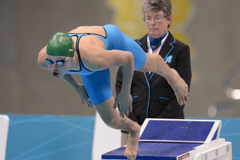 R.Meilutytė pagerino dar vieną Lietuvos rekordą, bet to buvo per mažai
