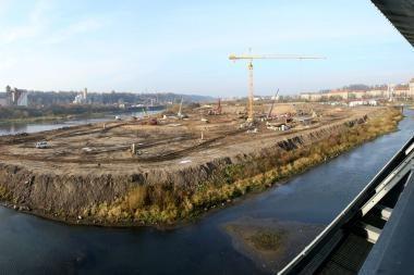 Kauno arenos statybvietėje rasta minosvaidžio mina