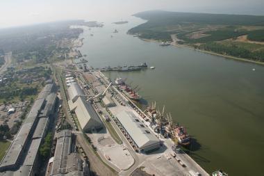 Prezidentė atkreipė dėmesį į galimybę Kinijai gabenti krovinius per Klaipėdą
