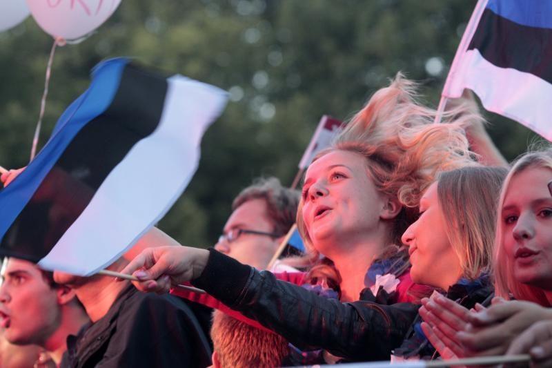 Estijoje estų procentas truputį išaugo, rusų – sumažėjo