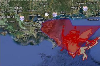Naftos išsiliejimas Meksikos įlankoje bendrovei BP atsiėjo jau 8 mlrd. dolerių
