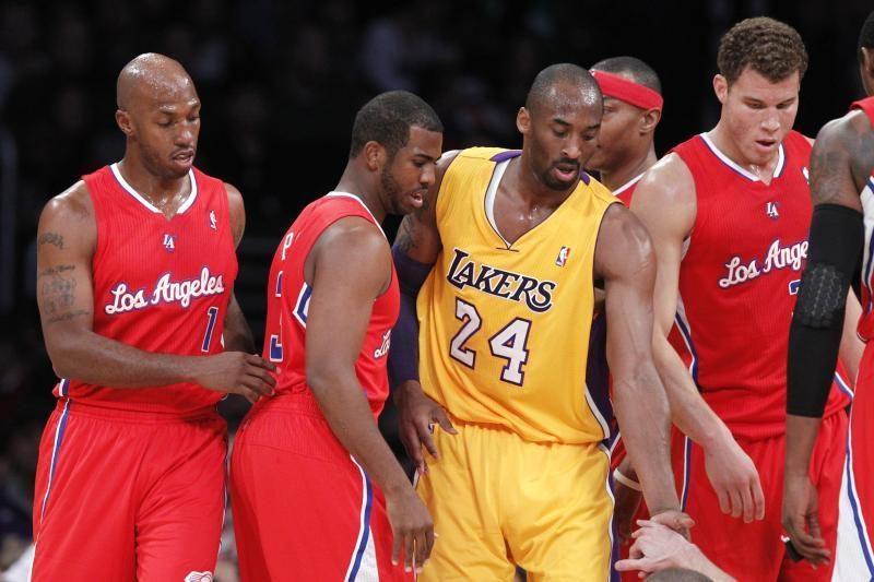 "Los Andželo ikisezoniniame derbyje - ""Lakers"" fiasko"