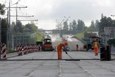 Vilniaus vakarinio aplinkkelio statybos gali būti atnaujintos (papildyta)