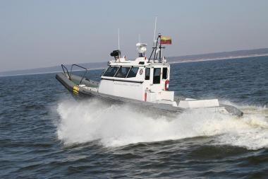VSAT kateris dalyvaus operacijoje Viduržemio jūroje