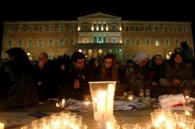 Anarchistai Graikijoje buvo užėmę televiziją