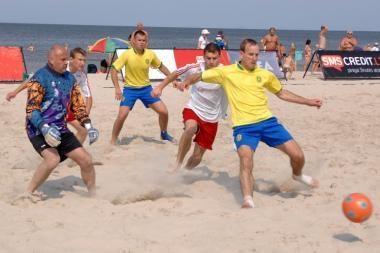 Šeštadienį bus atidarytas Lietuvos paplūdimio futbolo sezonas