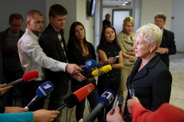 I.Degutienė apie pataisas dėl parlamentarų drausmės: viskas vyksta pagal planą