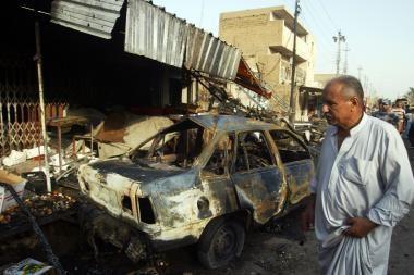 Bagdade išpuoliai pasiglemžė 13 gyvybių