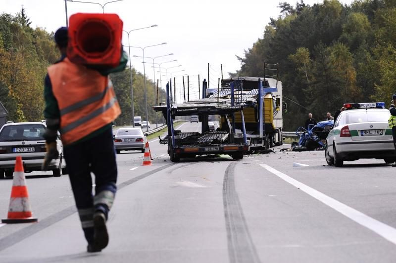 Kruvinoji statistika: per savaitę keliuose žuvo du žmonės