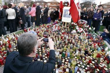 Lenkijos prezidento laidotuvėse dalyvaus apie milijoną žmonių