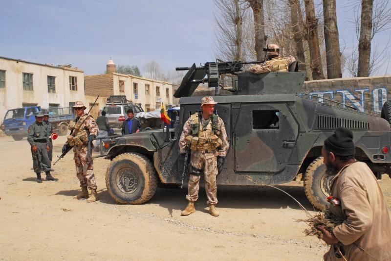 Britų spauda: vietos pajėgoms kol kas ketinama perduoti tik Čagčaraną