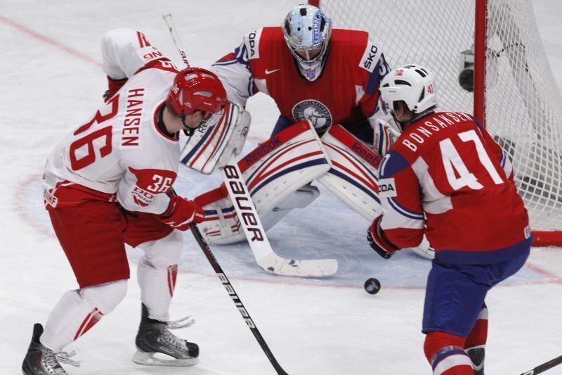 Pasaulio čempionate norvegai įveikė danus, kanadiečiai - baltarusius