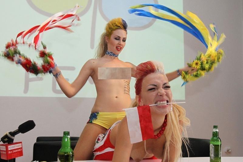 Ukrainos sekso pramonė deda dideles viltis į futbolo čempionatą