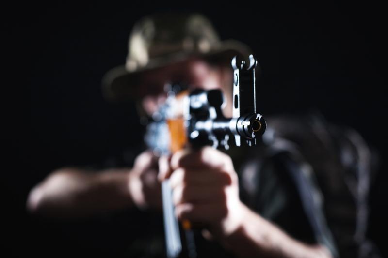 Marijampolėje vyriškis pašovė įsibrovėlį