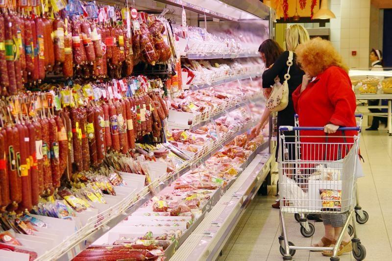 Vilniaus parduotuvėje uždrausta prekiauti beveik 60 kg produktų