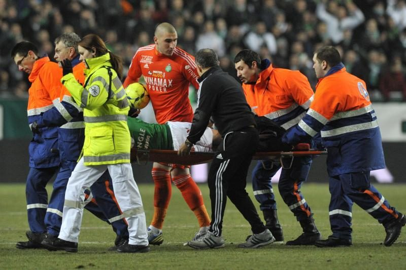 "Prancūzijoje - kraupus ""Saint-Etienne"" saugo kojos lūžis"