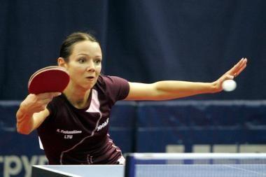 R.Paškauskienė - atvirojo Lenkijos stalo teniso čempionato šešioliktfinalyje