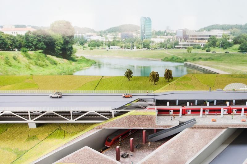 Vilniaus transporto vizijoje - metro, tramvajai, greitieji autobusai