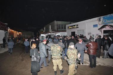 Dagestane sunaikinti banditai, užpuolę kelis milicijos patrulius, žuvo 7 milicininkai