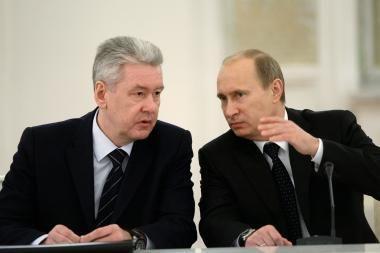 """Naujasis Maskvos meras ir Rusijos """"tandemokratijos"""" labirintai"""