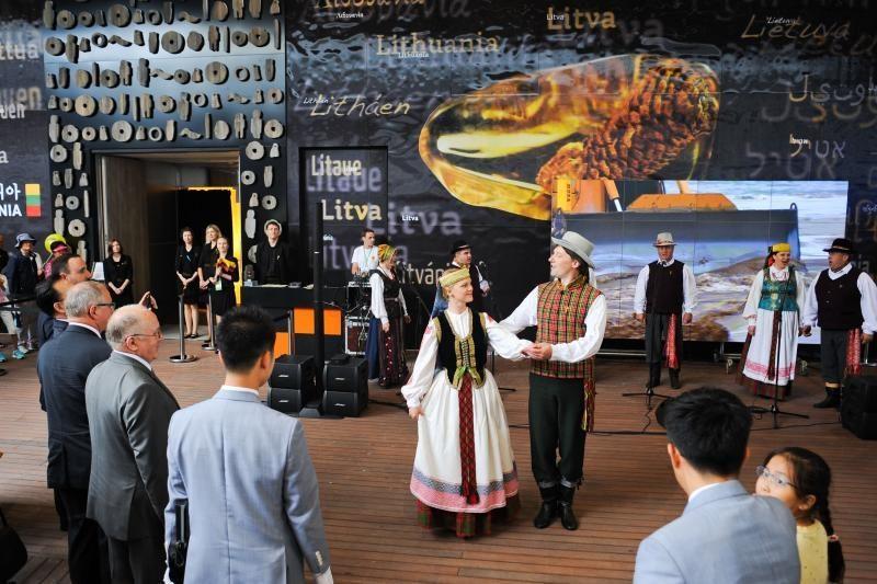 Lietuvos paviljoną Pietų Korėjoje jau aplankė 120 tūkst. žmonių
