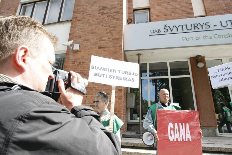 Dėl streiko alaus daryklose – teismų maratonas