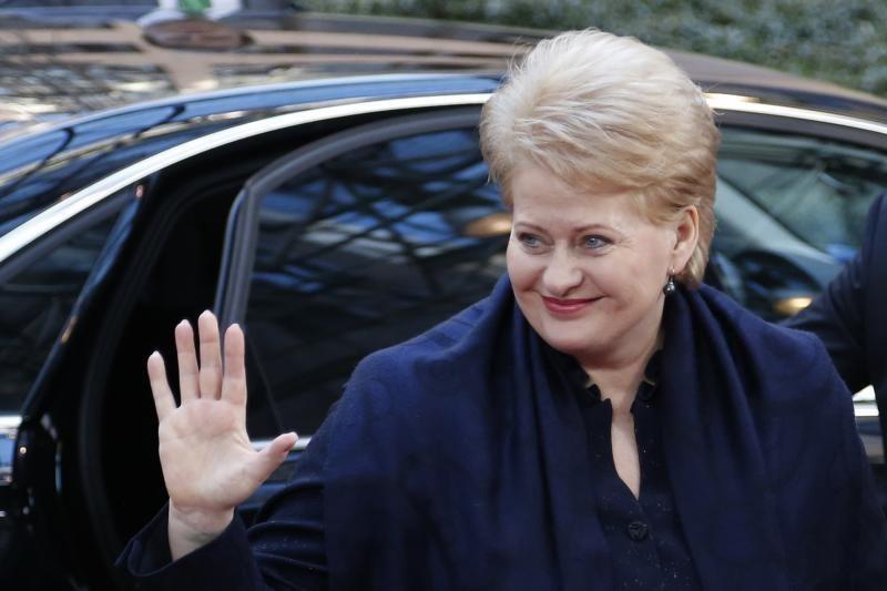 Prezidentė tiki, kad Briuselyje pavyks susitarti dėl ES biudžeto